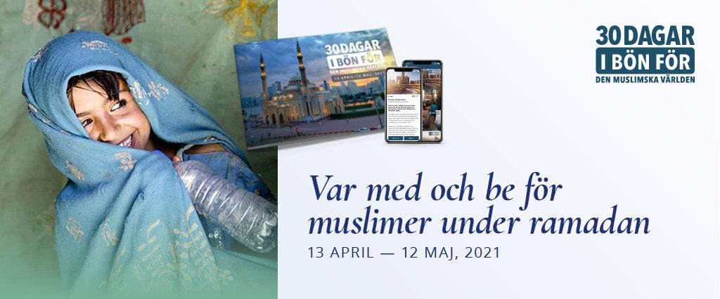 Var med och be för muslimer under ramadan