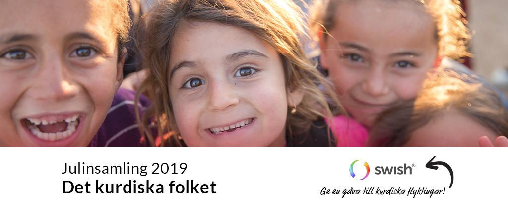 Julinsamling 2019: Det kurdiska folket / Ge en gåva till kurdiska flyktingar